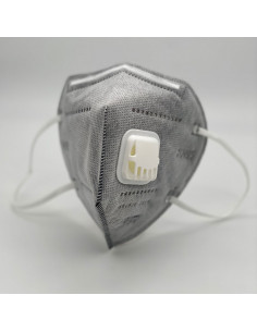 Masque KN95/FFP2 avec valve