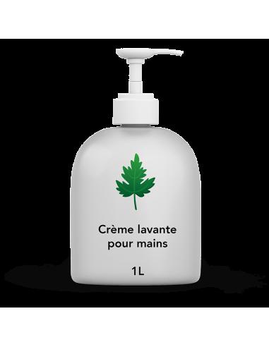 Savon crème lavante pour mains - 1L